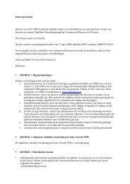Verordening Vernieuwend Bouwen en Wonen - Provincie Utrecht