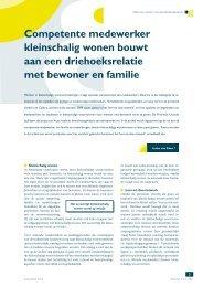 Competente medewerker kleinschalig wonen ... - Provincie Utrecht