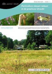 Particuliere Nieuwe Natuur in de Provincie Utrecht (PDF, 2 MB)