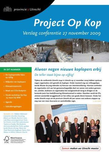 Op kop februari 2010 (PDF, 529 kB) - Provincie Utrecht
