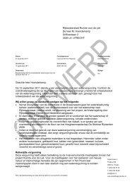 Ontwerpbesluit Watervergunning (PDF, 363 kB) - Provincie Utrecht