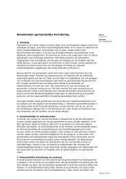 Beleidskader gemeentelijke herindeling 2011 - Rijksoverheid.nl