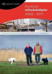 Provinciaal milieubeleidsplan 2009 - Provincie Utrecht