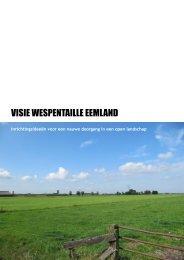 Advies Wespentaille Eemland - Provincie Utrecht