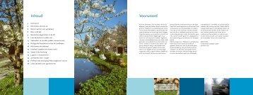 Platteland in Ontwikkeling, december 2007 (PDF ... - Provincie Utrecht