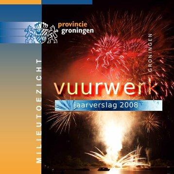 m i l i e u t o e z i c h t jaarverslag 2008 - Provincie Groningen