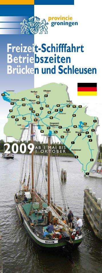 Betriebszeiten - Provincie Groningen