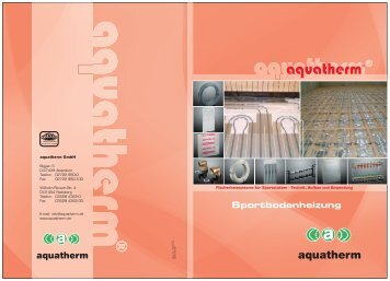 TECHNIK - aquatherm-pipesystems.com