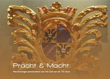 Pracht & Macht: - Provincie Groningen