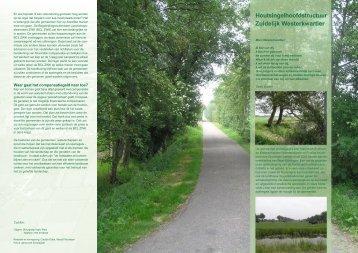 Houtsingelhoofdstructuur Zuidelijk Westerkwartier - Provincie ...
