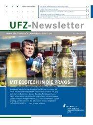UFZ-Newsletter: Mit Ecotech in die Paxis