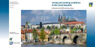 Living and working conditions in the Czech Republic