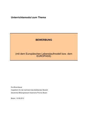 bewerbung unterrichtsmaterial - Deichmann Bewerbung
