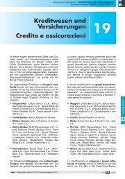 Credito e assicurazioni - Rete Civica dell'Alto Adige