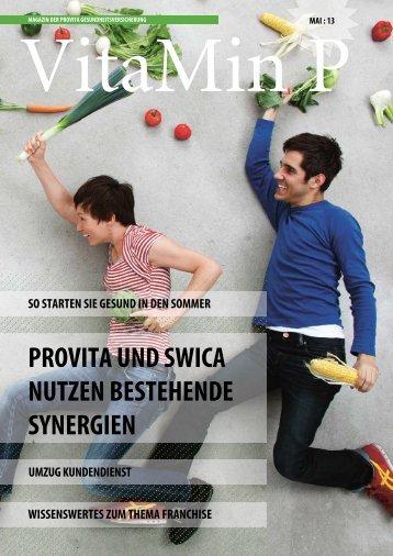 VitaMin P Frühling 2013 - Provita Gesundheitsversicherung