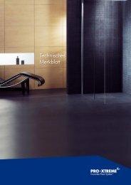 Technisches Merkblatt V4.1 R1 (deutsch).cdr - PRO+XTREME