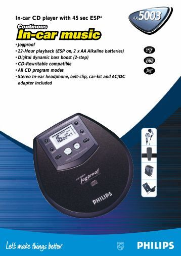 AX5003/10 - Philips