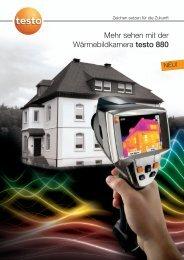 Download Datenblatt Testo 880 - Dr. Specht Gmbh Infrarot ...