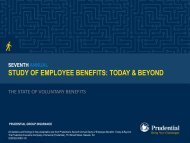 The State of Voluntary Benefits - Prudential