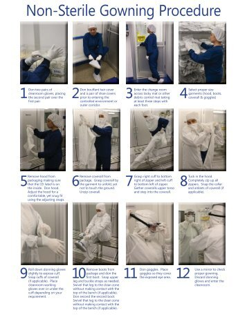 Non-Sterile Gowning Procedure