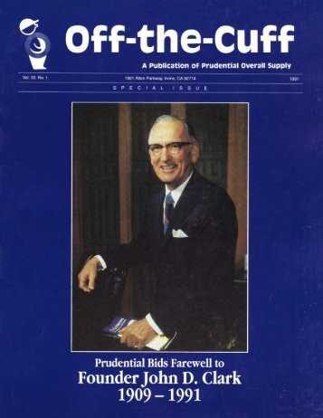 Vol.32 No.1 - Prudential Overall Supply