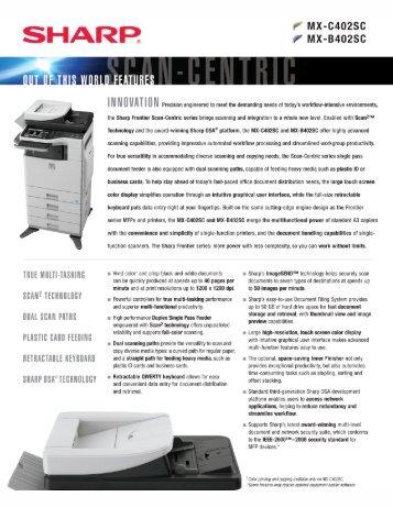 A Pdf Spec Sheet Ociated Office Equipment