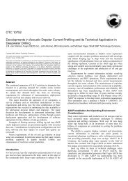 Developments in Acoustic Doppler Current Profiling and its ...