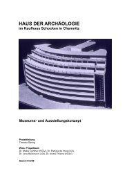 HAUS DER ARCHÄOLOGIE im Kaufhaus Schocken in Chemnitz ...