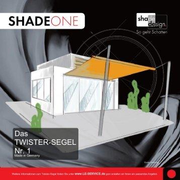 Das TWISTER-SEGEL Nr. 1 - jetzt bei www.le-service.de
