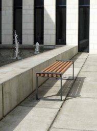 Urbanes Mobiliar - Produktideen Bänke 2012
