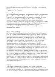 anja konzept - Dr. Eulenspiegel & Theatertherapie Bayreuth