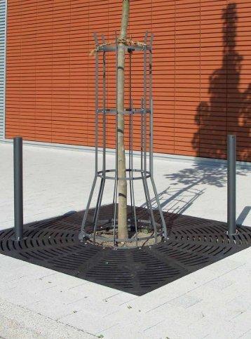Urbanes Mobiliar - Produktideen Baumschutz 2012