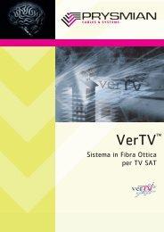 VerTV™ - Sistema in Fibra Ottica per TV SAT - Prysmian