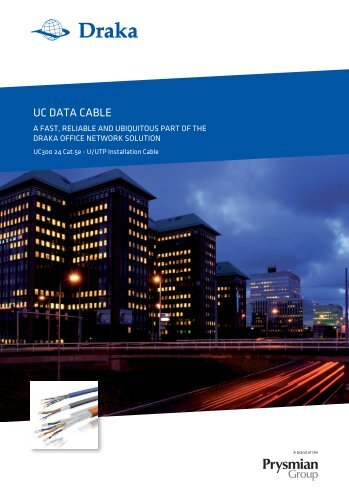 UC DATA CABLE - Prysmian