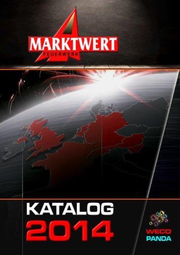 Marktwert Feuerwerk Katalog 2014
