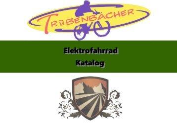 Elektrofahrrad Katalog