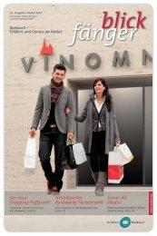 Der neue Shopping-Treffpunkt Nostalgischer Rankweiler Herbstmarkt