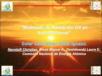 Modelado de la radiación solar para aplicaciones en tratamiento de ...