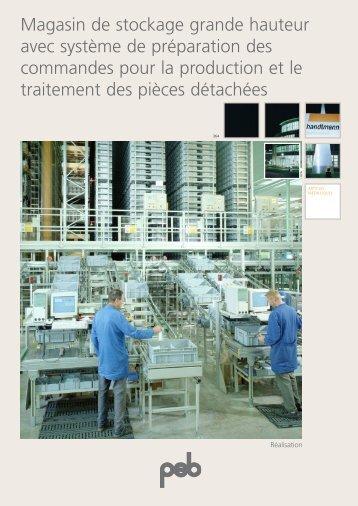 Construction mécanique Handtmann / Allemagne - psb GmbH