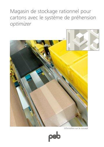 Magasin de stockage rationnel pour cartons avec le ... - psb GmbH