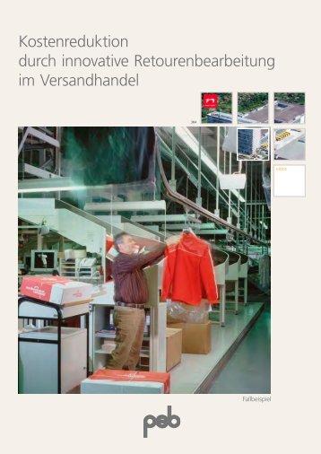 Kostenreduktion durch innovative Retourenbearbeitung ... - psb GmbH