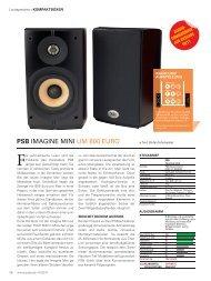 pSB IMAGINE MINI UM 800 EURO - PSB Lautsprecher Deutschland