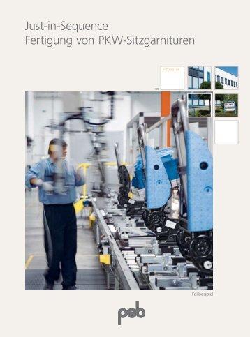 Just-in-Sequence Fertigung von PKW-Sitzgarnituren - psb GmbH