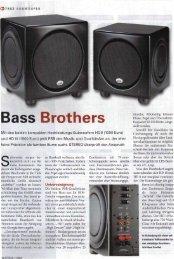 Stereo 11/10: Subwoofer HD8 - PSB Lautsprecher Deutschland