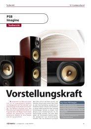 av magazin 6/10 - PSB Lautsprecher Deutschland