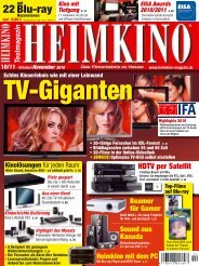 Heimkino 10/11 2010 - PSB Lautsprecher Deutschland