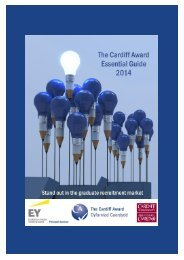 The Cardiff Award - Essential Guide
