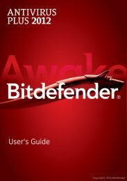 Download Bitdefender Antivirus Plus 2012 User Guide