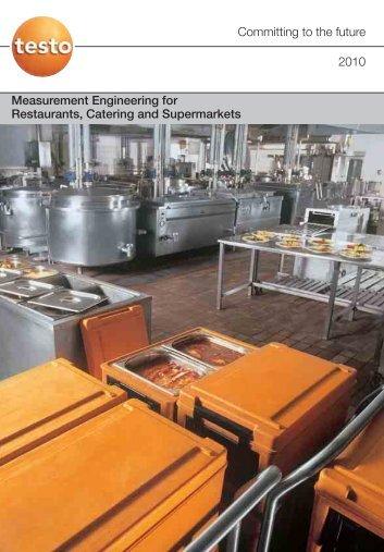 Measuring Engineering for Restaurants, Catering & supermarkets