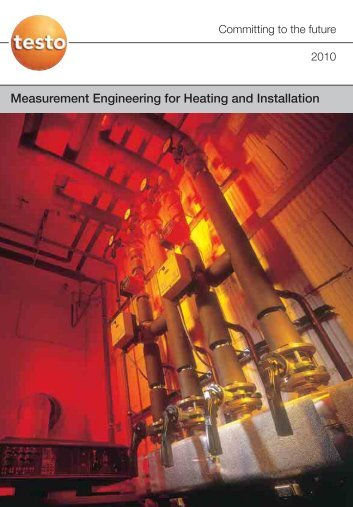 Publication: Measurement Engineering for Heating and Installation
